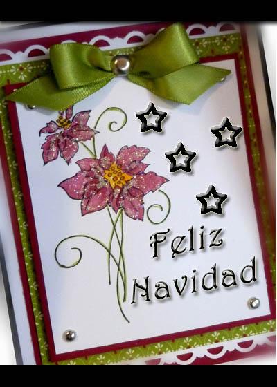 Ideas para tarjetas de cumplea os o navidad hechas a mano - Tarjeta navidad original ...