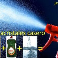 limpiacristales-casero