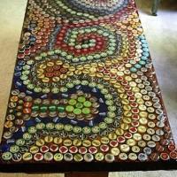 Reciclar chapas de botellas