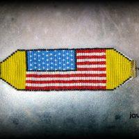 pulsera bandera estados unidos