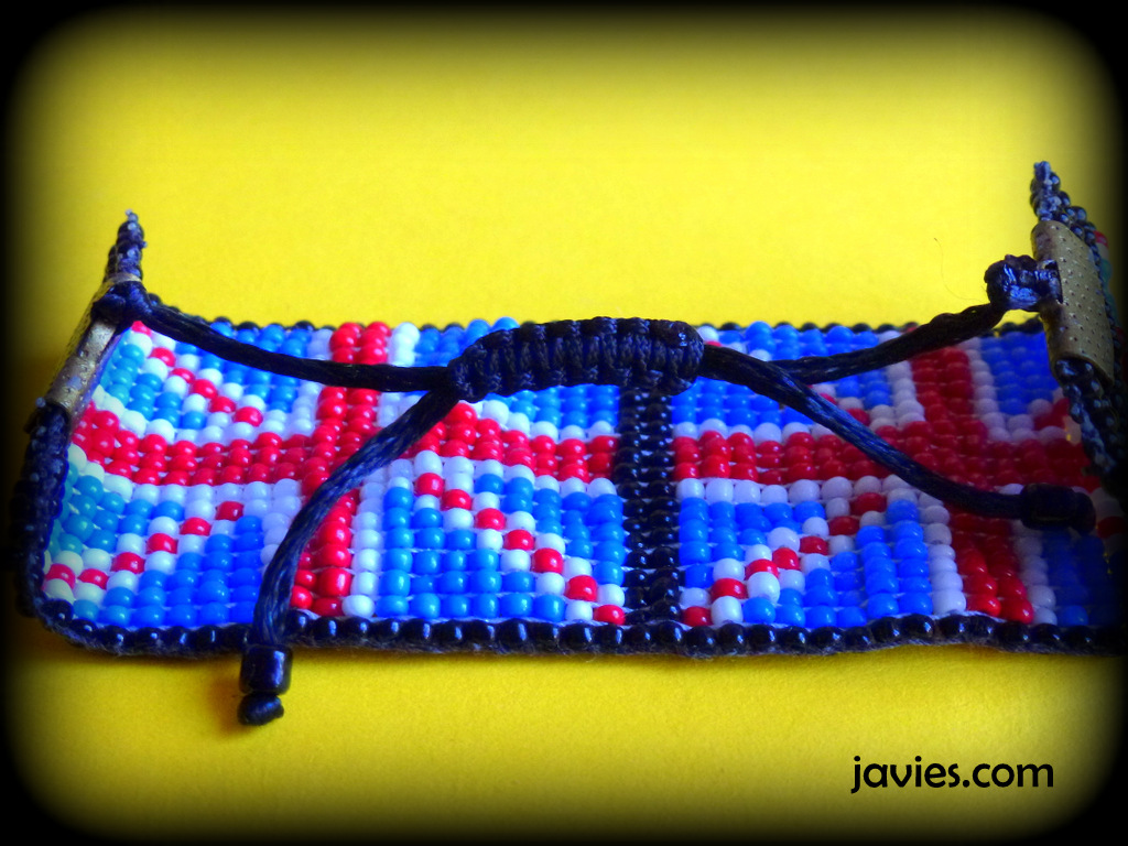 Pulsera bandera UK