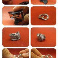 Tutorial - Como hacer bolsos con anillas de latas de refresco o cerveza