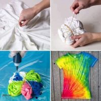 Camiseta hippie de colores