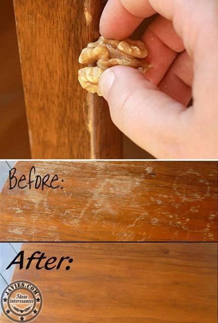 Reparar ara azos en la madera de forma sencilla y natural - Reparar madera ...