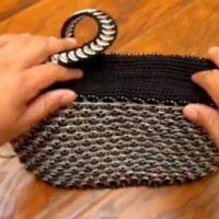 Tutorial - Bolso con anillas de latas - Modelo 2