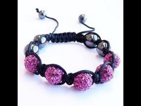Pulsera Shamballa simple