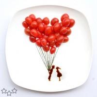 Arte con comida