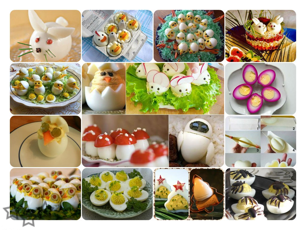 Huevos decorados - Decorar con fotografias ...