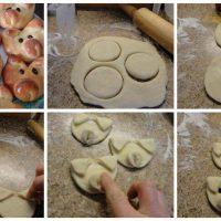 cerditos de pan