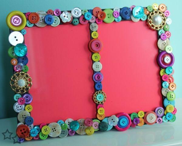 Reciclar botones 6 - Manualidades de botones ...