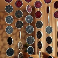 Cortinas con cápsulas de Nespresso