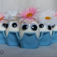 huevos con ojos