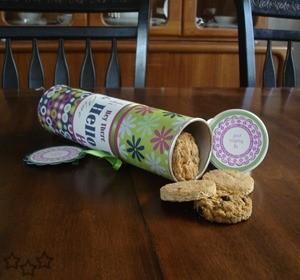 Guardar los paquetes de galletas abiertas - Pringles