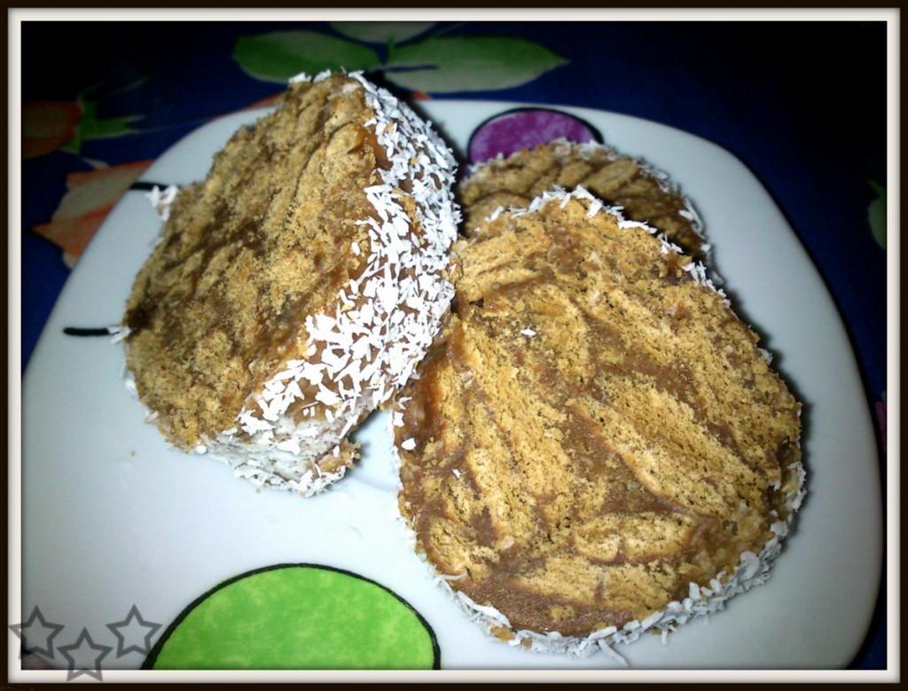 Salchichón con galletas