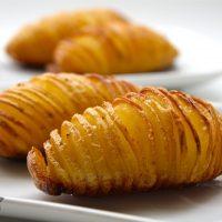 Patatas Hasselback