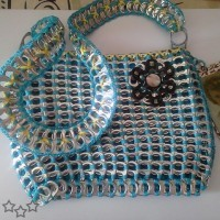 Modelos de bolso con anillas de latas
