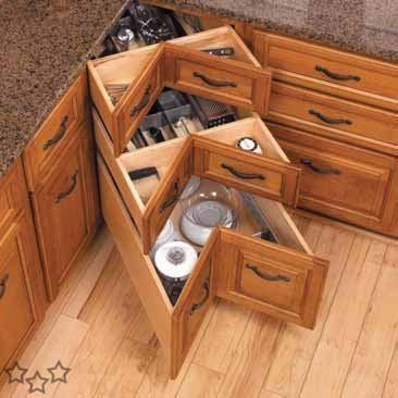 Organizar la cocina for Organizar cajones cocina