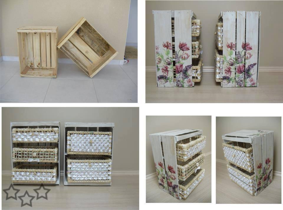 Reciclar cajas de madera - Cajones de fruta de madera ...