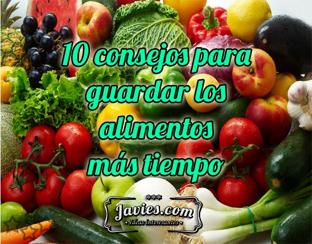Guardar alimentos