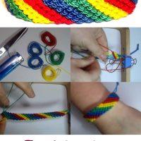 pulsera-nudos-multicolor