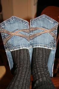 zapatillas-con-jeans-viejos