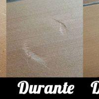 Arreglar golpes en los muebles