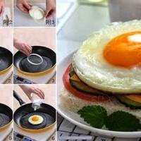 Huevo frito con cebolla