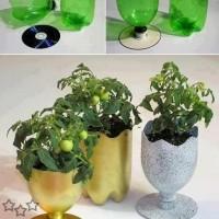 manualidades con botellas de plastico 6