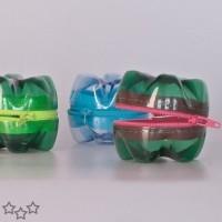 manualidades con botellas de plastico 8
