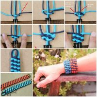 Pulsera paracord triple