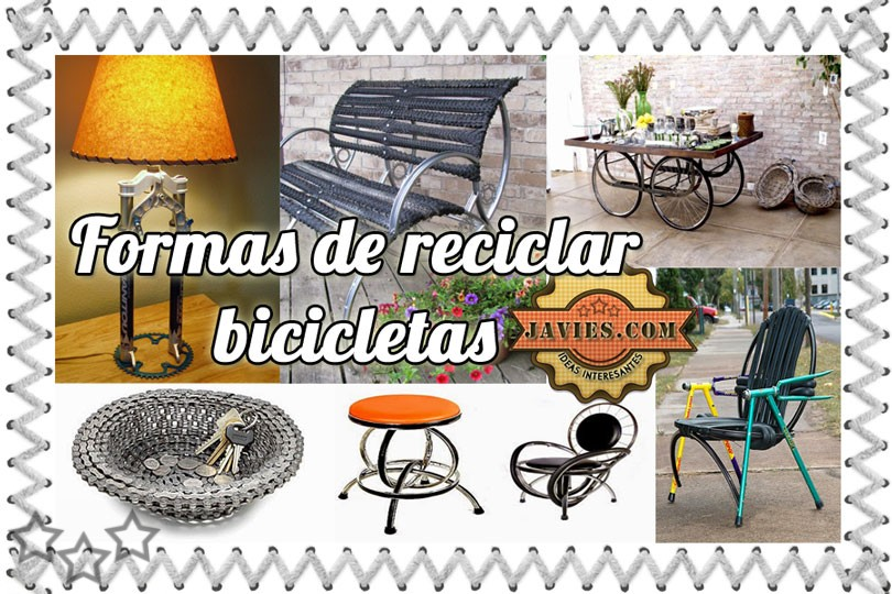 Reciclar bicicletas antiguas