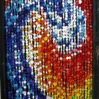 Manualidades con tapones de botellas de plástico