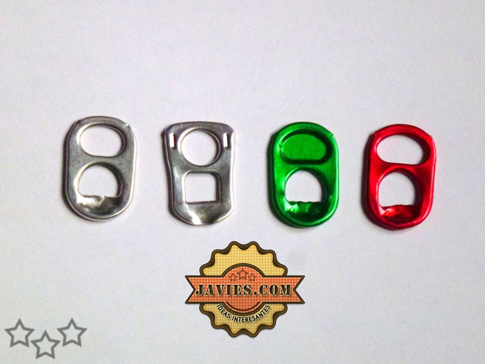 Tipos de anillas de latas