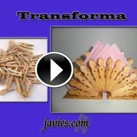 servilletero reciclado con pinzas de madera