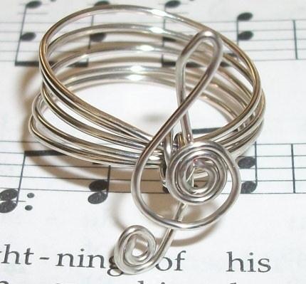 anillo con alambre