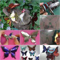 mariposas con latas