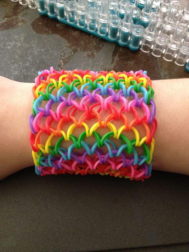 pulsera de gomitas ancha gomitas arcoiris