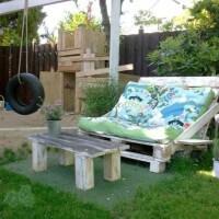30 ideas para reciclar los palets sof s con palets - Reciclar con palets ...