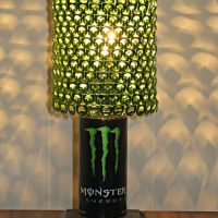 lamparas con anillas de latas