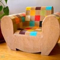 muebles reciclados de carton 11