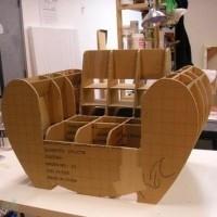 muebles reciclados de carton 12