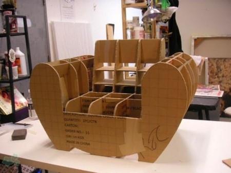 Muebles reciclados de carton 12 for Muebles de cocina reciclados