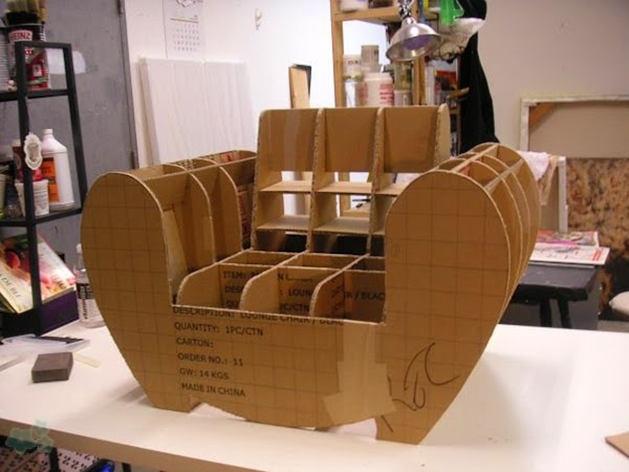 Muebles reciclados de carton 12 - Muebles de cocina reciclados ...
