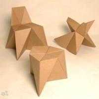 muebles reciclados de carton 13