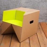 muebles reciclados de carton 15