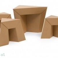 muebles reciclados de carton 16