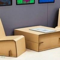 muebles reciclados de carton 17