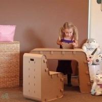 muebles reciclados de carton 18