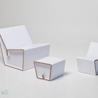 muebles reciclados de carton 20