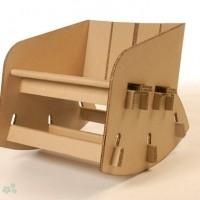 muebles reciclados de carton 21